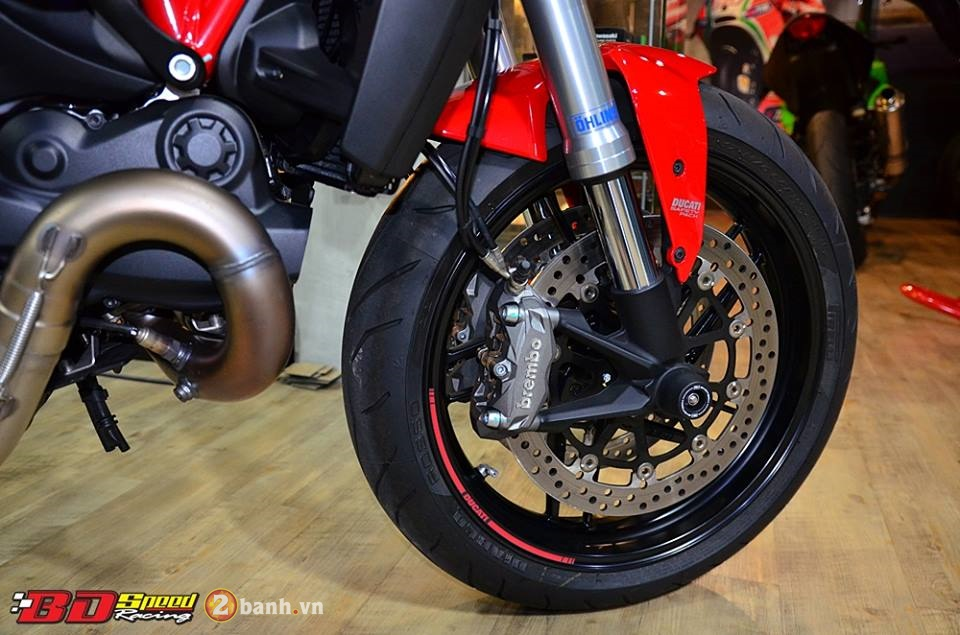 Ducati Monster 821 cuc chat ben dan do choi hang hieu - 7