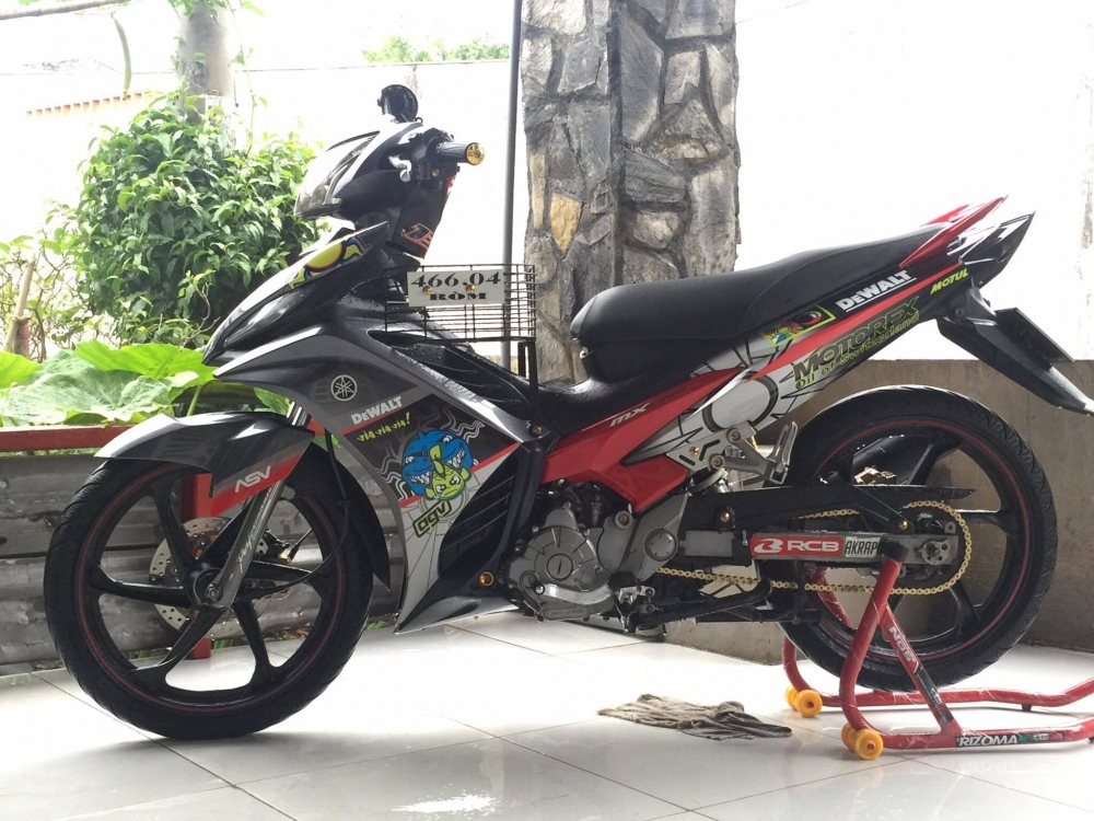 Exciter 135 do phong cach Rossi huyen thoai - 4