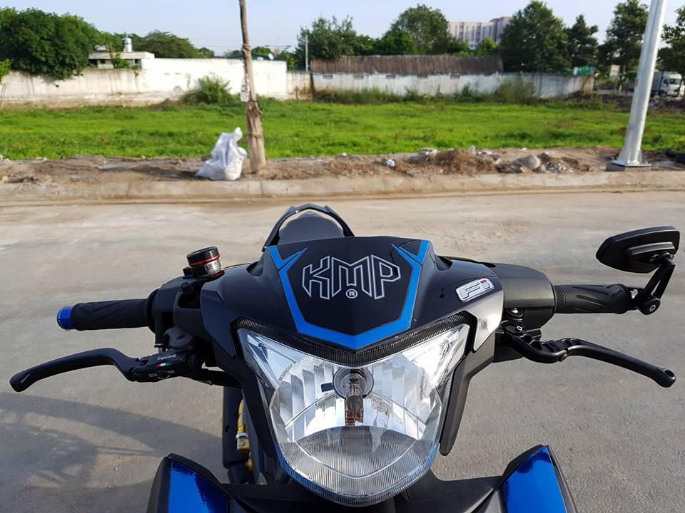 Exciter 150 day dung manh trong bo canh HP4 - 4