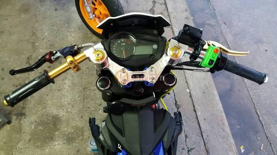 Exciter 150 do doc voi phong cach Minibike - 2