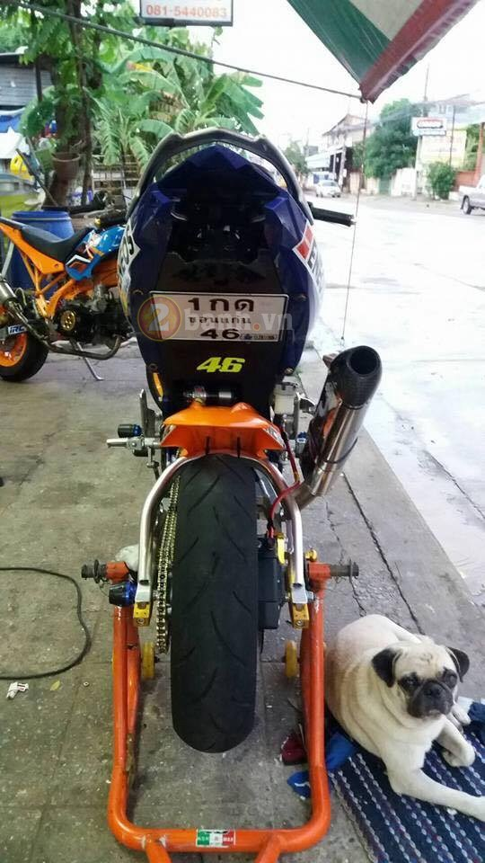 Exciter 150 do doc voi phong cach Minibike - 4