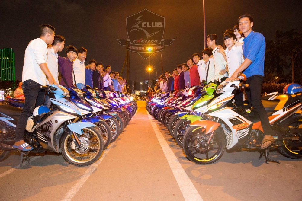 Hinh anh hoat dong cua Club Exciter SaiGon Special