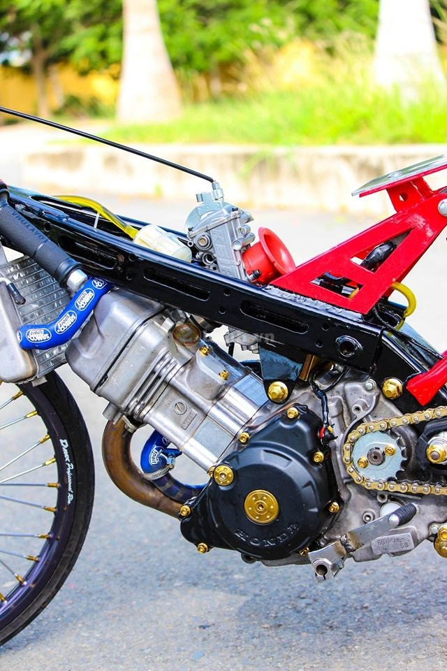 Sonic khung dung chat drag bike - 6