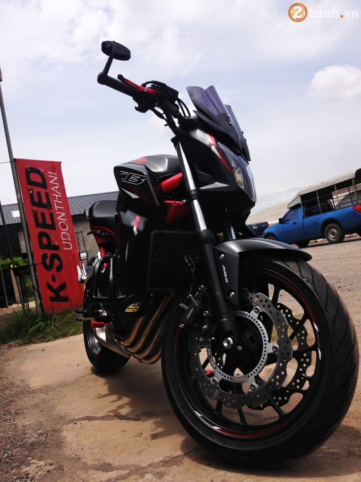 Honda CB650F 2016 phien ban Sporty Streetfighter do cuc chat tren dat Thai - 14