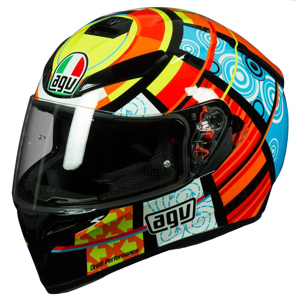 KTM Ha Noi AGV K3SV ELEMENTS Noi Bat Giua Dam Dong - 3
