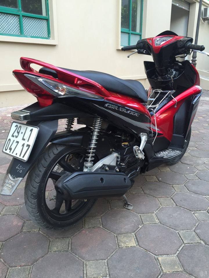 Rao ban Airblade Fi 2011 do den sport bien 295 so chinh chu gia dinh it dung 25tr800 - 3