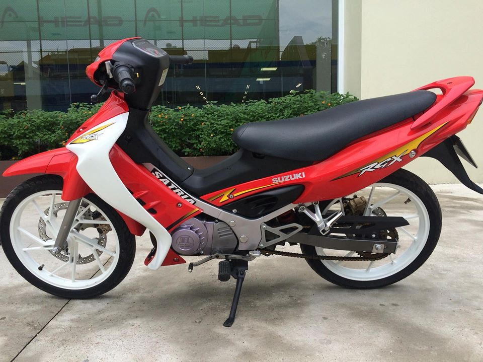 Suzuki Xipo Satria RGX mau do 6 so 120cc MBC bien 40404 - 6