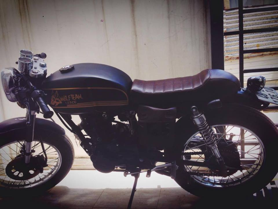 sym wolf do cafe racer chat lu giay to day du co hinh - 5