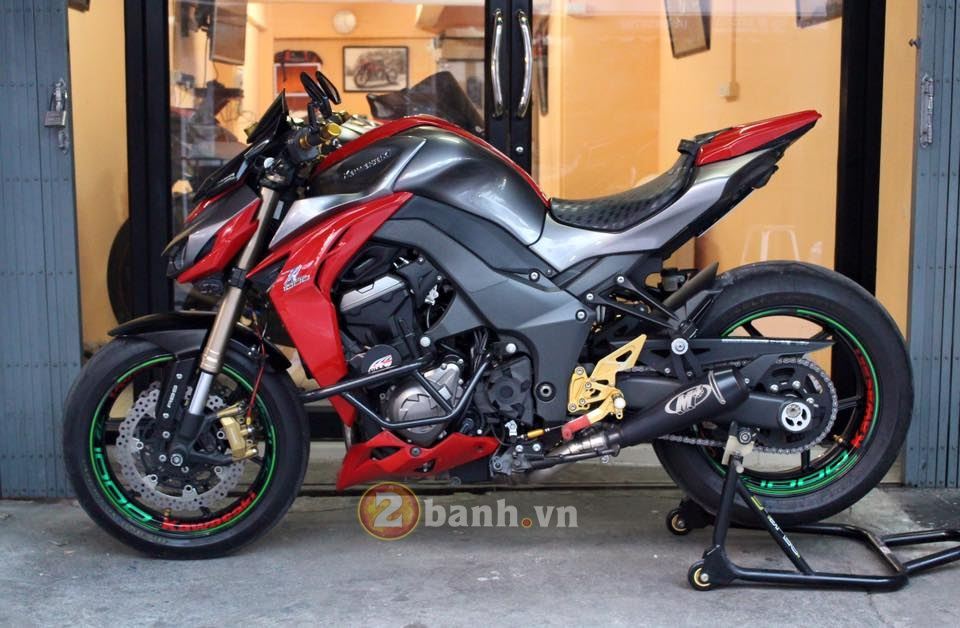Ngay ngat voi Kawasaki Z1000 do chat - 2