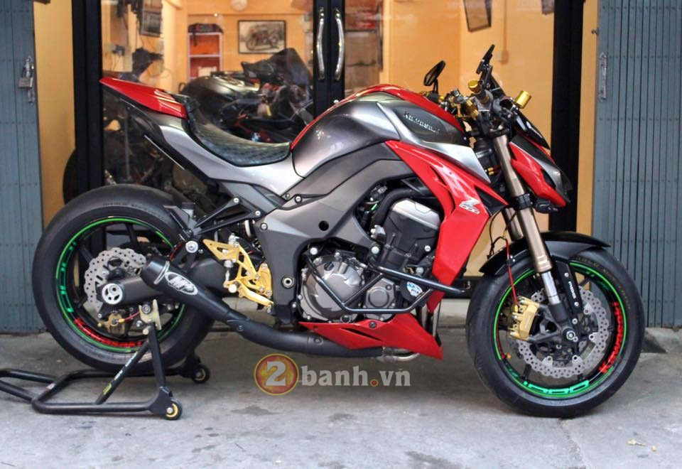 Ngay ngat voi Kawasaki Z1000 do chat - 3