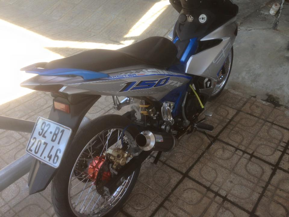 Exciter 150 Tam Ky don gian nhe nhang - 3