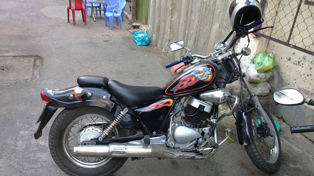 ban xe moto husky do rebell 150 - 2