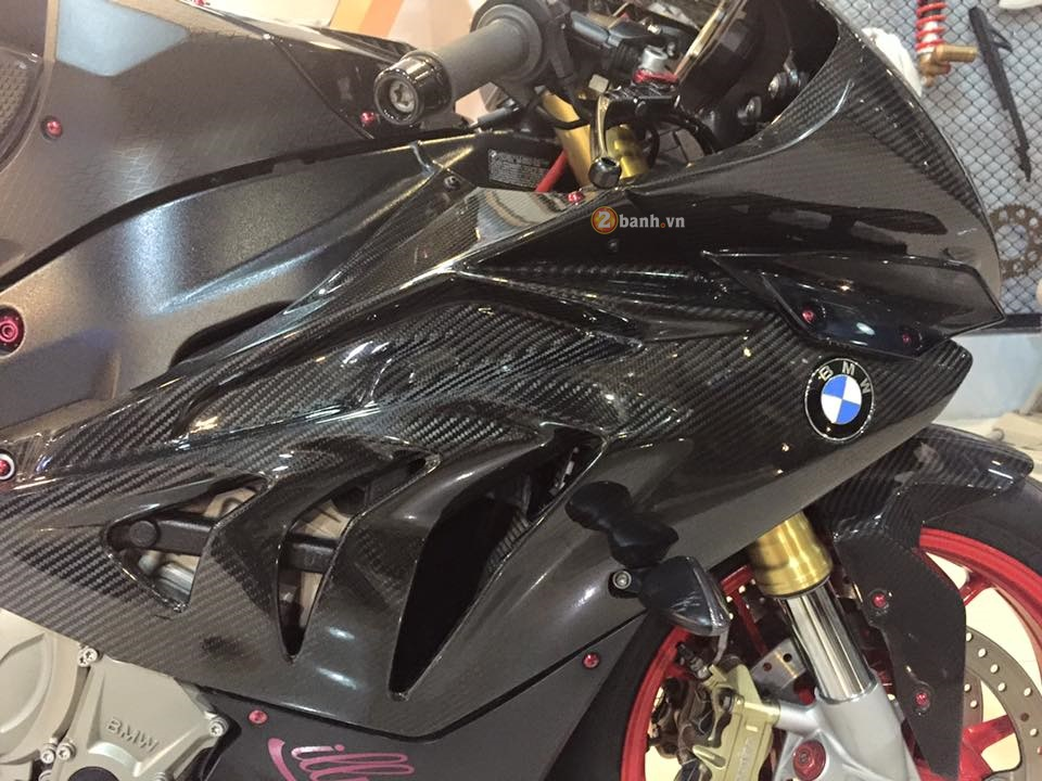 BMW S1000RR do cuc chat voi ve ngoai day ma mi - 6