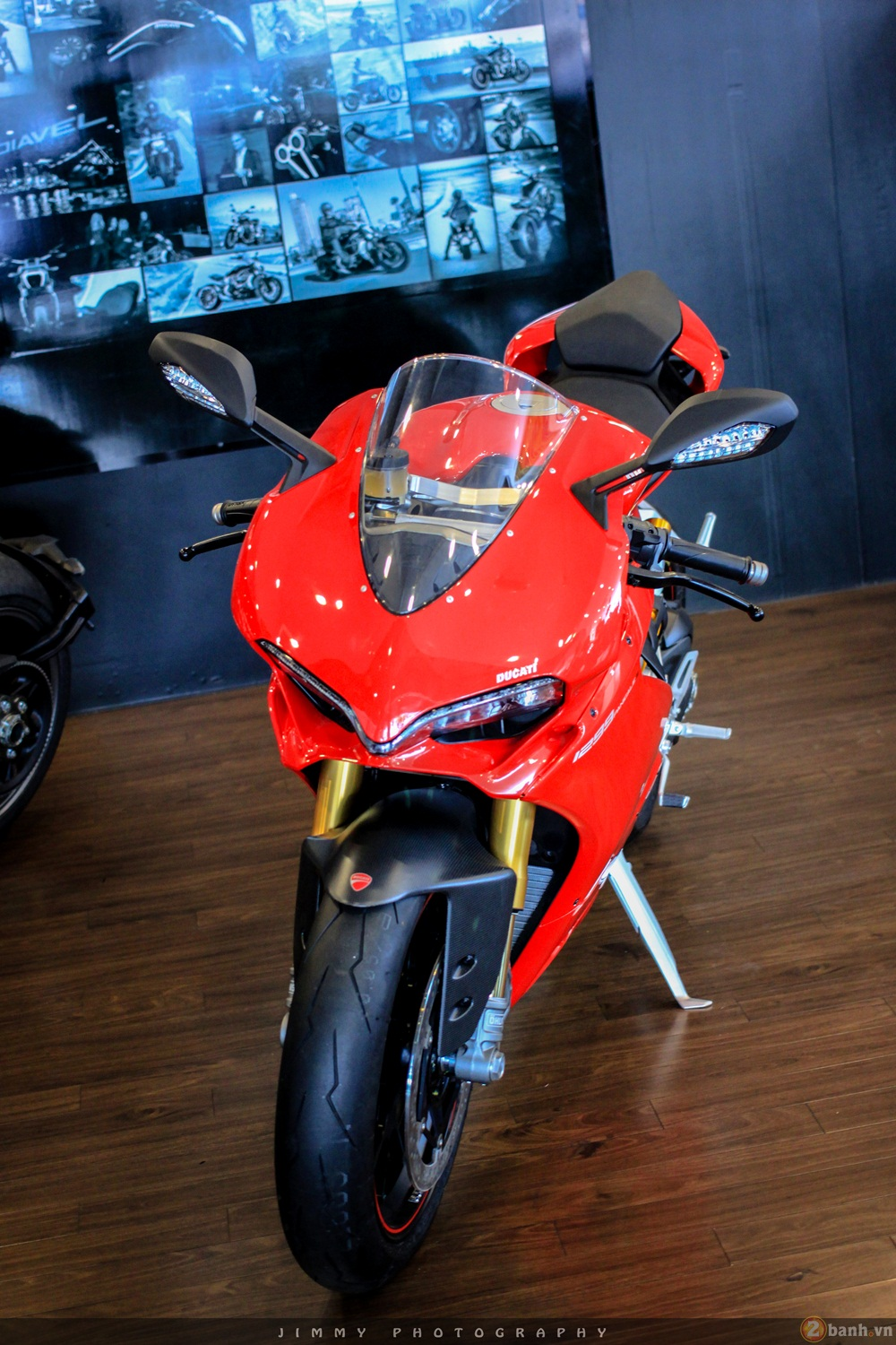 Chan dai Italy 1299 Panigale S chiec Super Sport gon nhe nhat hien nay - 7