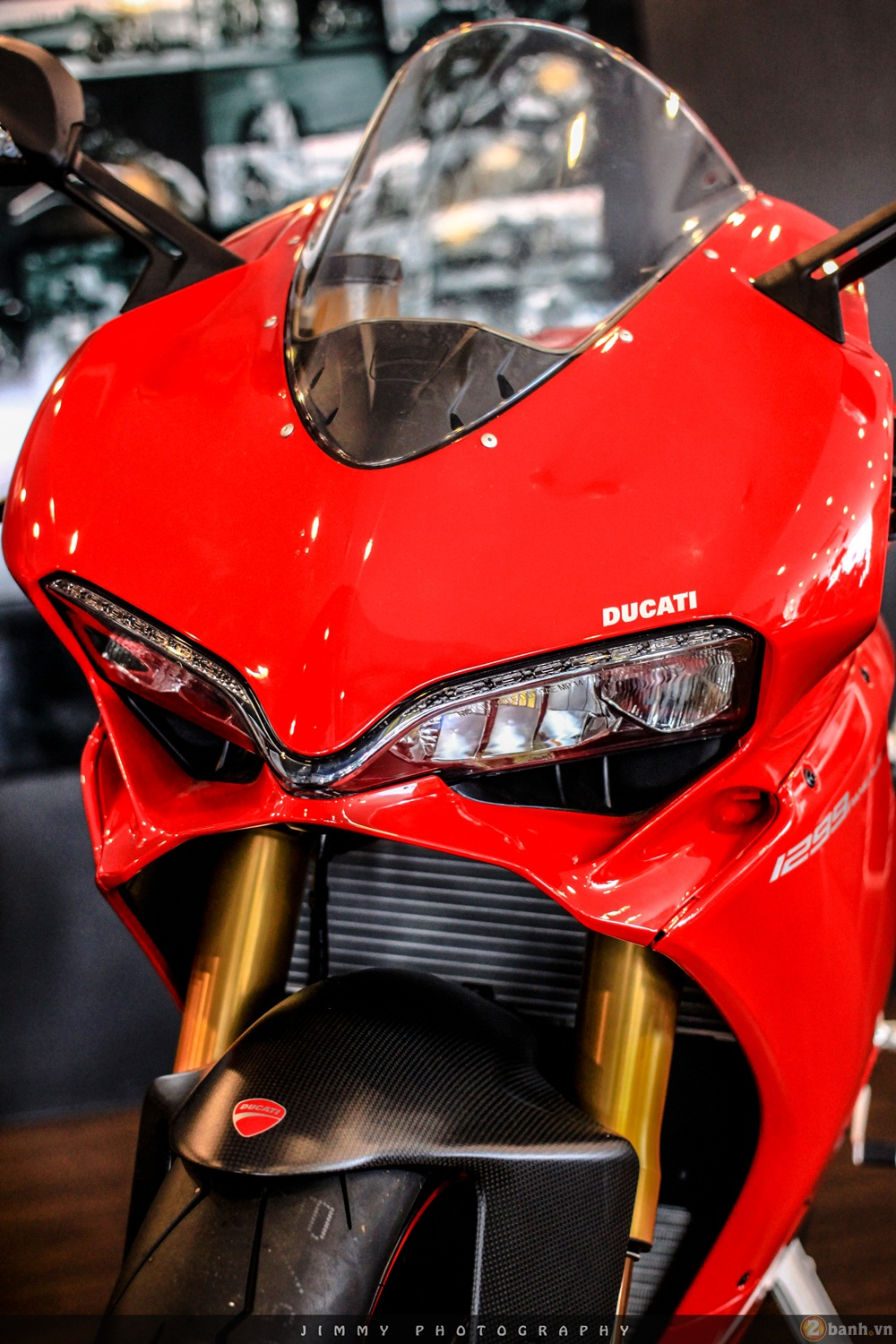 Chan dai Italy 1299 Panigale S chiec Super Sport gon nhe nhat hien nay - 9