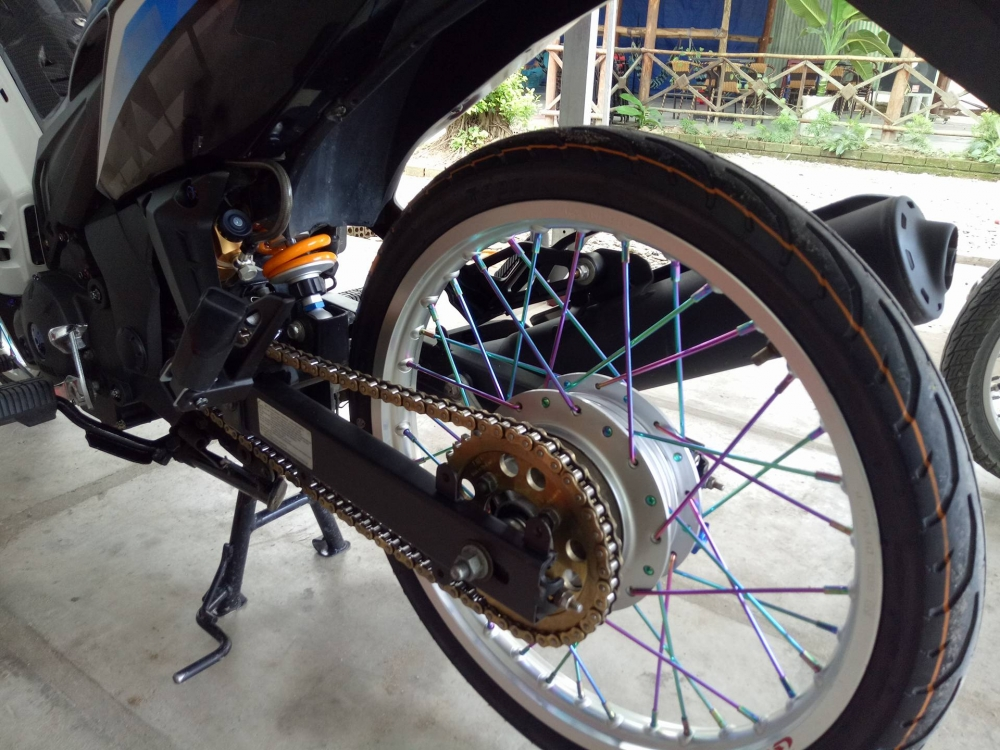 Exciter 135 may Thai don nhe - 4