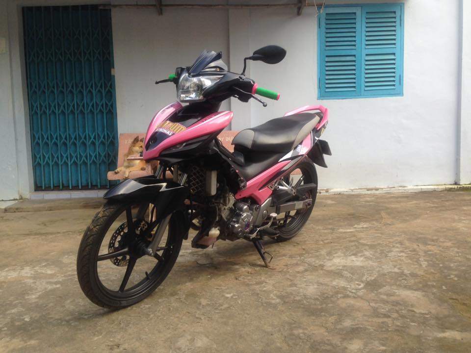 Exciter 135 pha cach cung Hong Den manh me - 2
