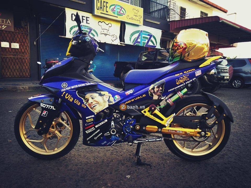 Exciter 150 do doc cua mot than tuong Valentino Rossi - 2