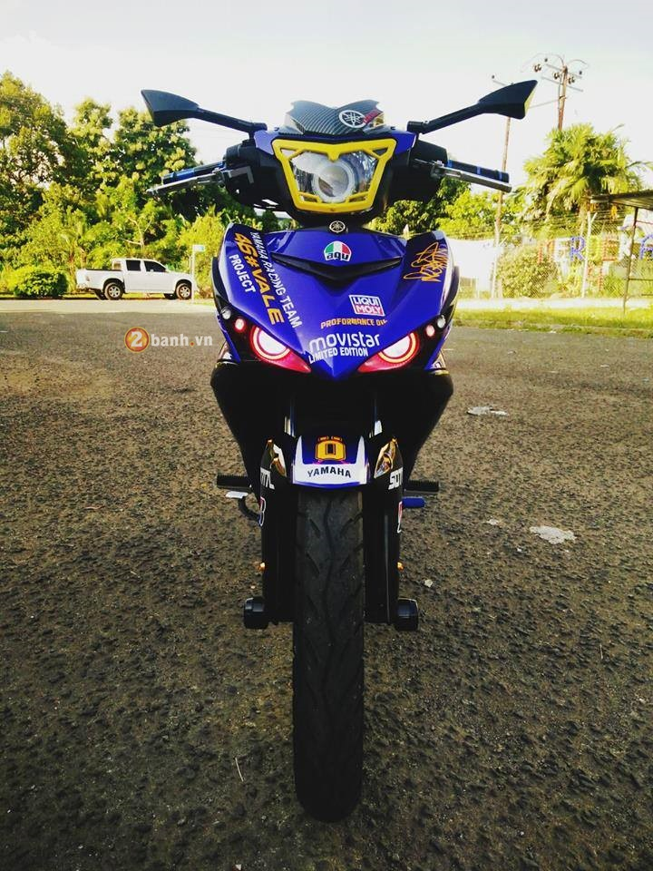 Exciter 150 do doc cua mot than tuong Valentino Rossi - 4