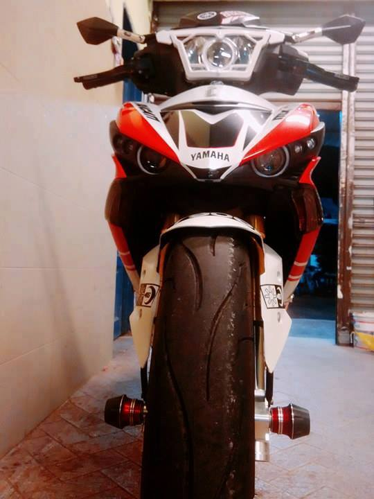 Exciter 150 do ham ho voi phong cach ducati - 2