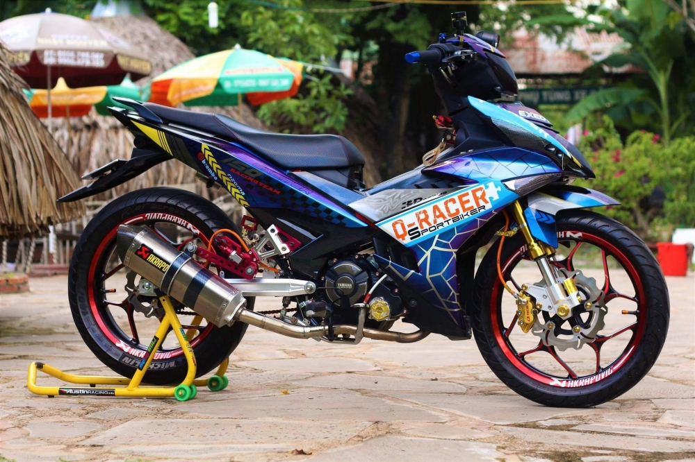 Exciter 150 trong bo canh tem dau QRacer day an tuong - 2