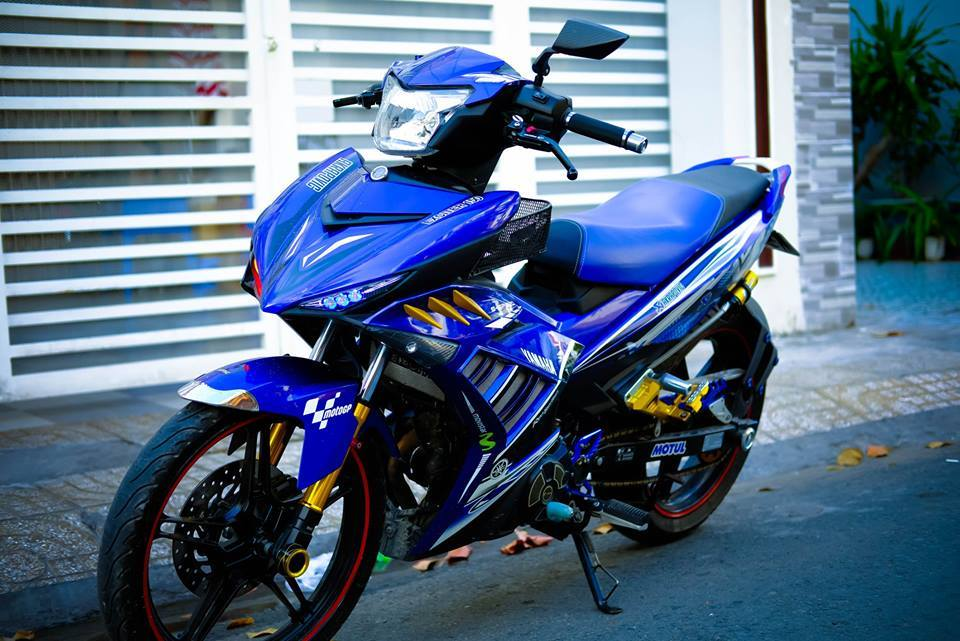 Exciter 150 GP mien Tay day song - 10