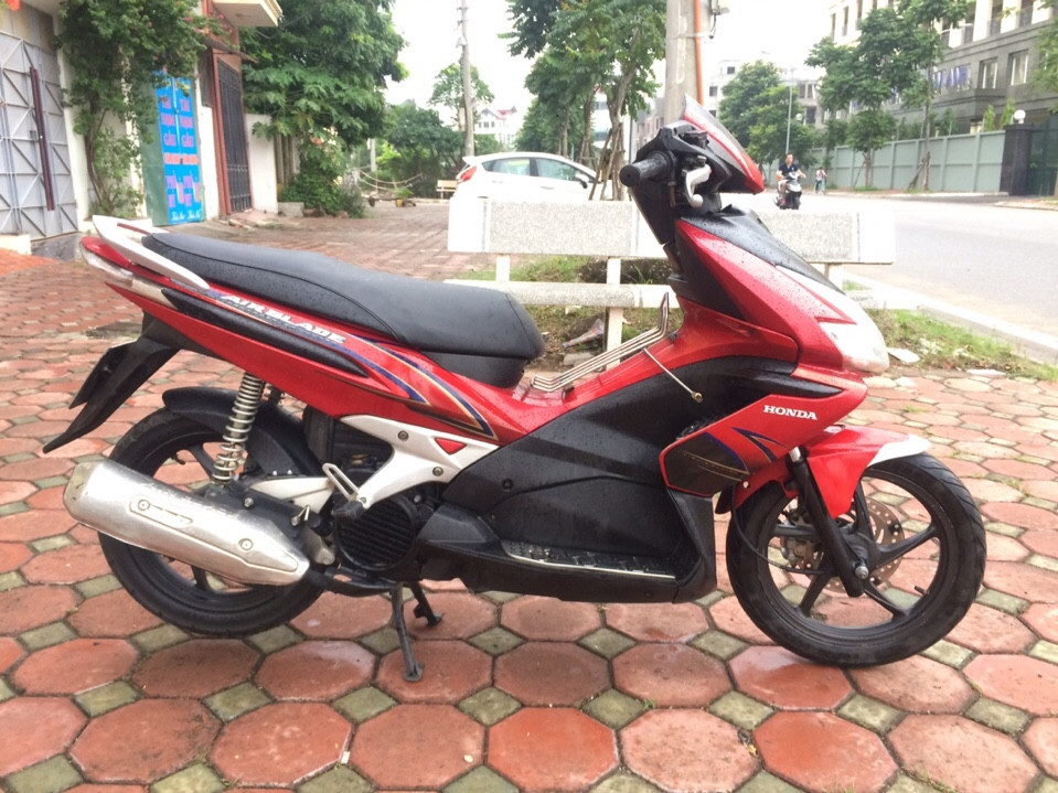 Honda Airblade doi 2009 mau Do Den bien so 29S124769 - 5