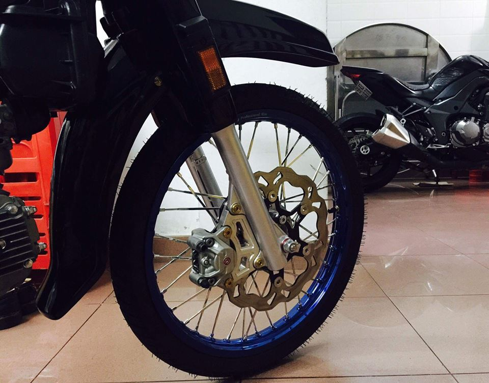 Honda Dream do nhe cung bien so ngu quy day hap dan - 2