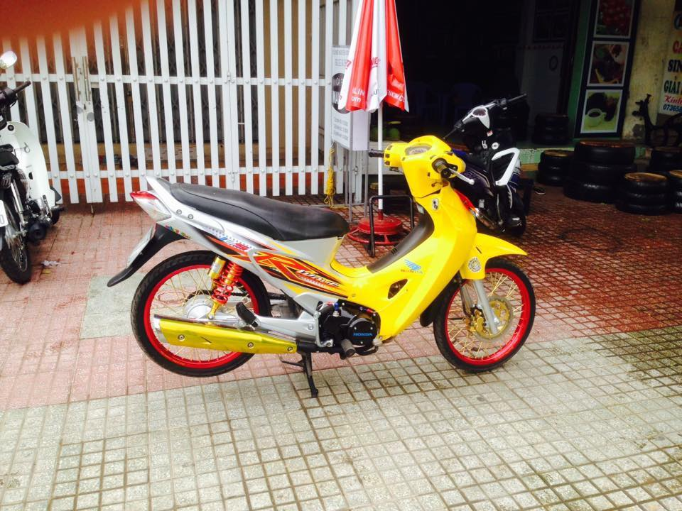 Honda Future 125 do phong cach Thai - 8
