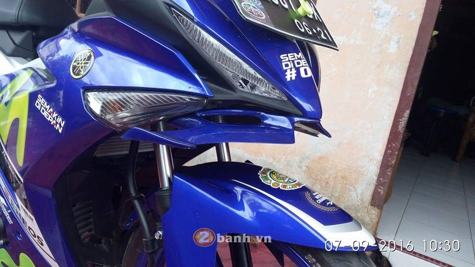 Hot Canh gio khi dong hoc cho Exciter 150 - 2