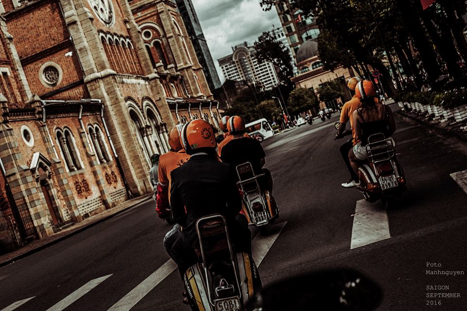 Le hoi Nhung Quy Ong Chay xe Motor 2016 The Distinguished Gentlemans Ride - 2