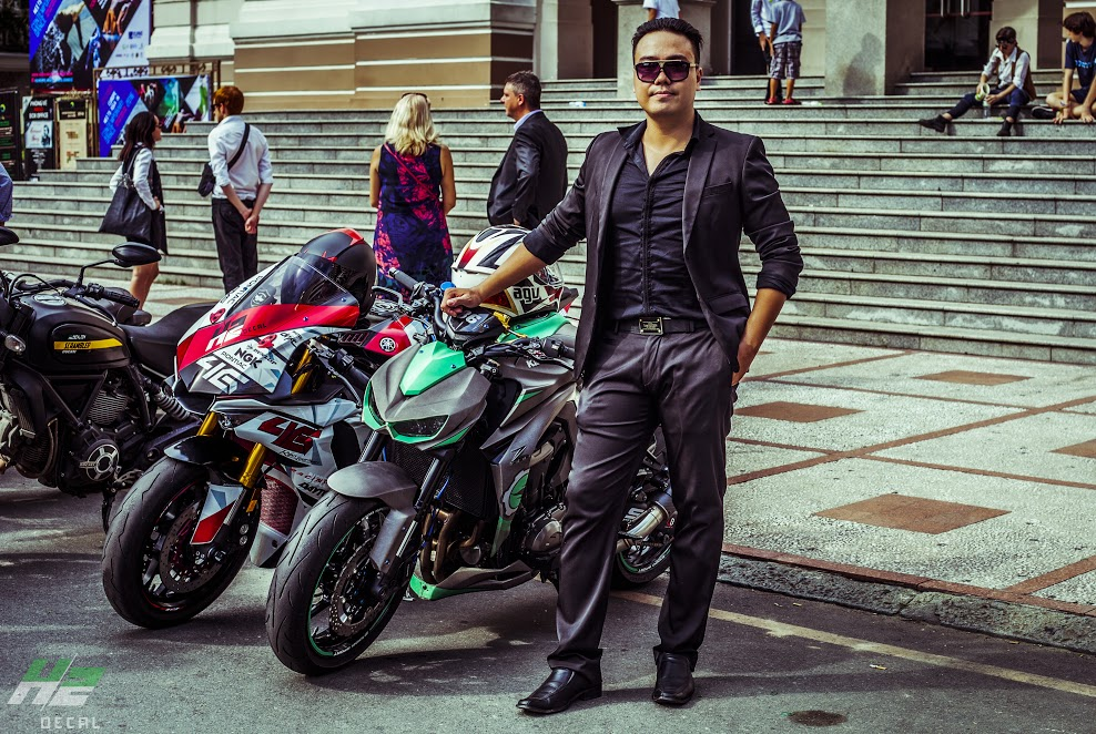 Le hoi Nhung Quy Ong Chay xe Motor 2016 The Distinguished Gentlemans Ride - 4