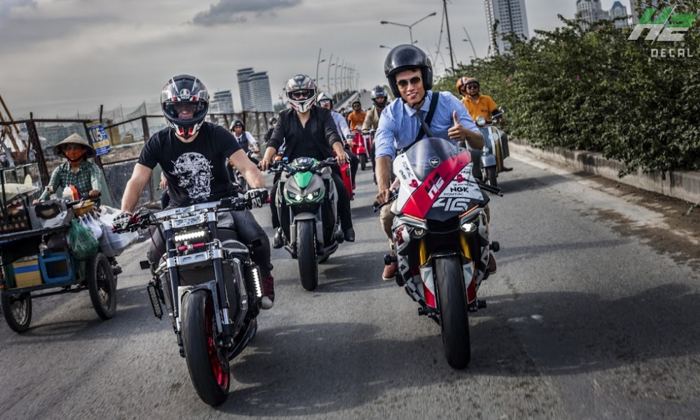 Le hoi Nhung Quy Ong Chay xe Motor 2016 The Distinguished Gentlemans Ride - 10