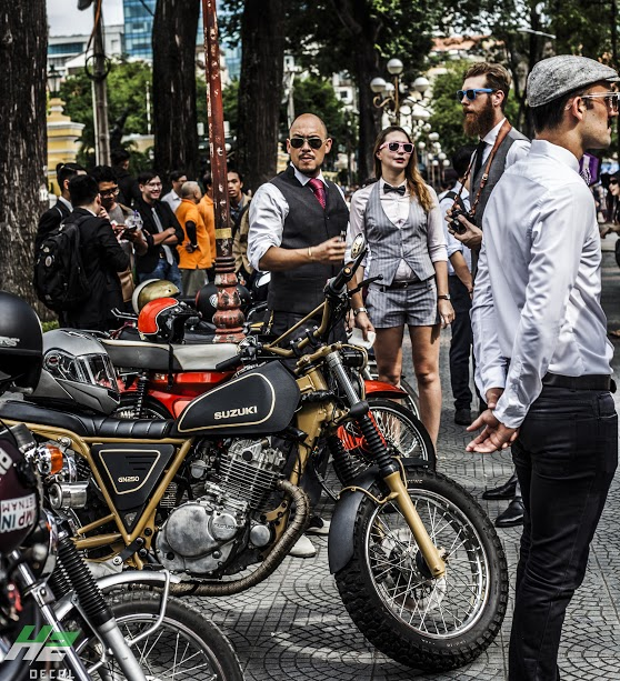 Le hoi Nhung Quy Ong Chay xe Motor 2016 The Distinguished Gentlemans Ride - 14
