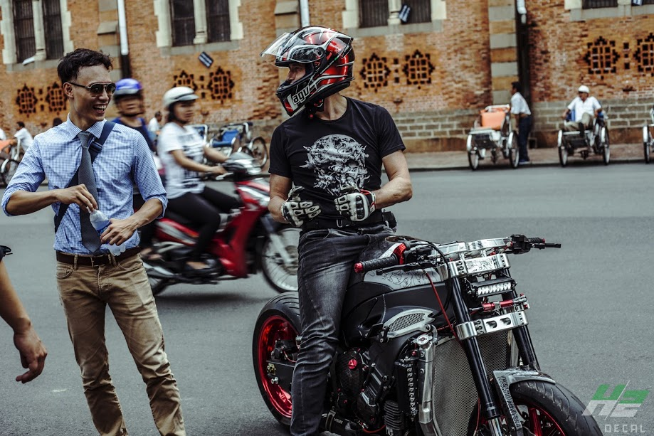 Le hoi Nhung Quy Ong Chay xe Motor 2016 The Distinguished Gentlemans Ride - 16