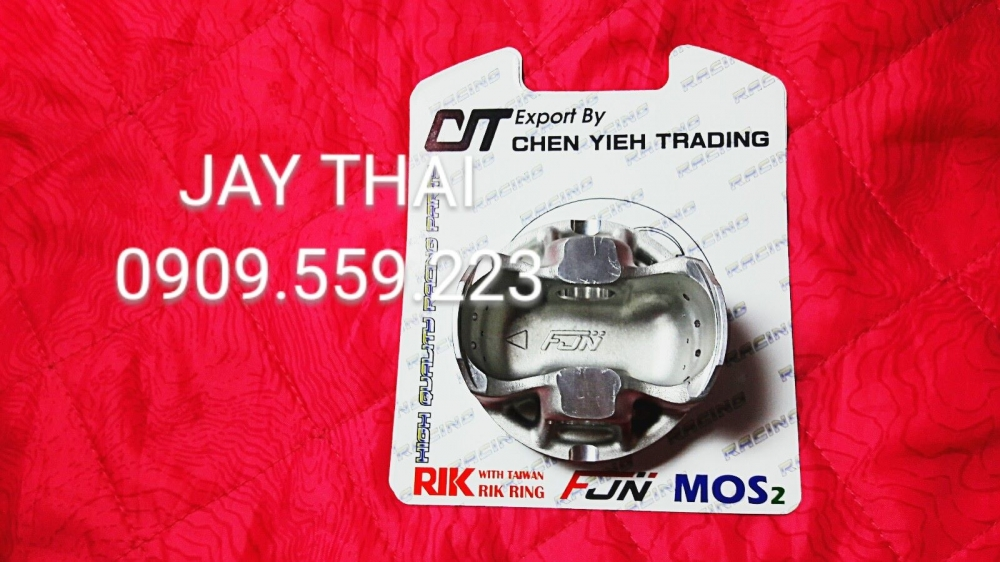 PISTON nen CIT 62mm 3 trong 1 RIK FJN MOS2 - 4