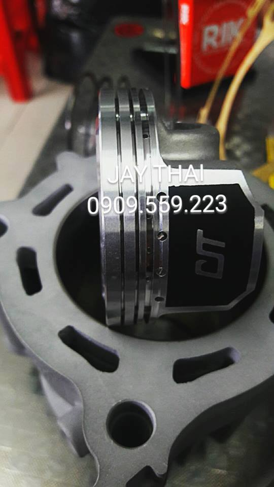 PISTON nen CIT 62mm 3 trong 1 RIK FJN MOS2 - 6