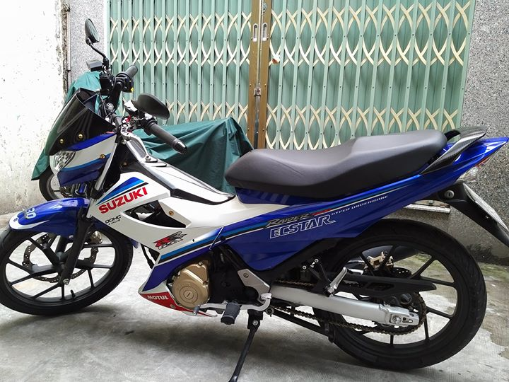 SUZUKI RAIDER 2016 phien ban Ecstar do cuc khung voi dan do choi chat - 2