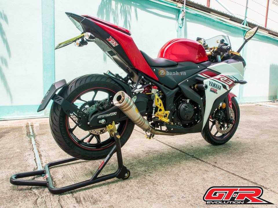 Yamaha R3 day phong cach voi ban do tu GTR Evolution - 13