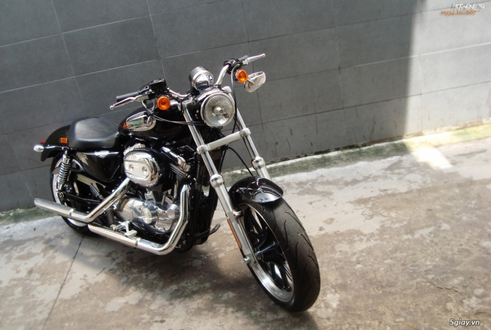 ___ Can Ban ___HARLEY DAVIDSON 883 Superlow 2014___ - 4