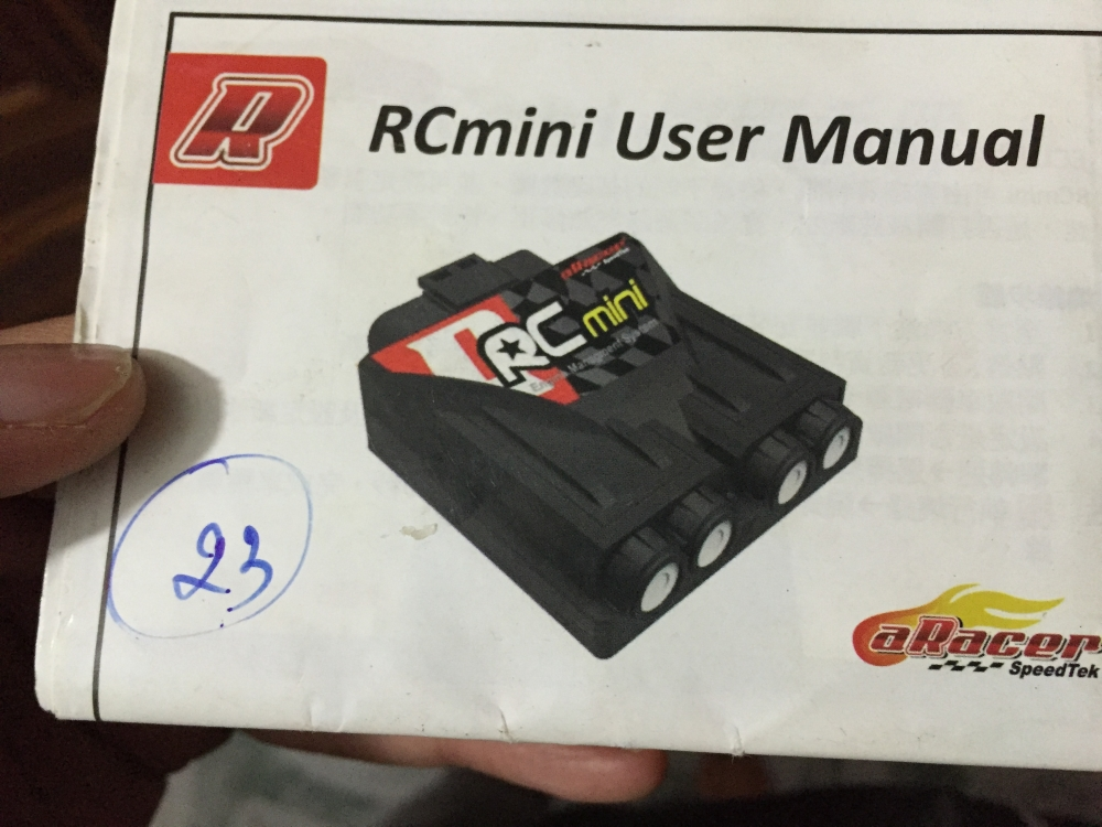 Ban ECU Aracer RCMini4c for Exciter150 Fi - 2