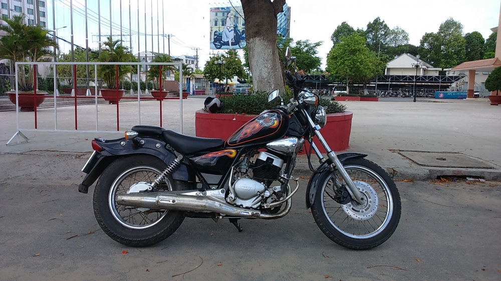 ban xe moto husky 150cc do dang rebell co dien - 2