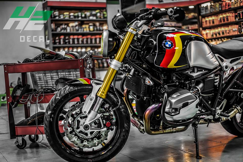 BMW R Nine T manh me voi loat do choi hang hieu - 4