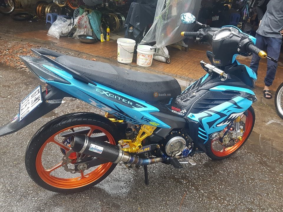 Exciter 135 trong bo canh ca map xanh day ham ho - 6