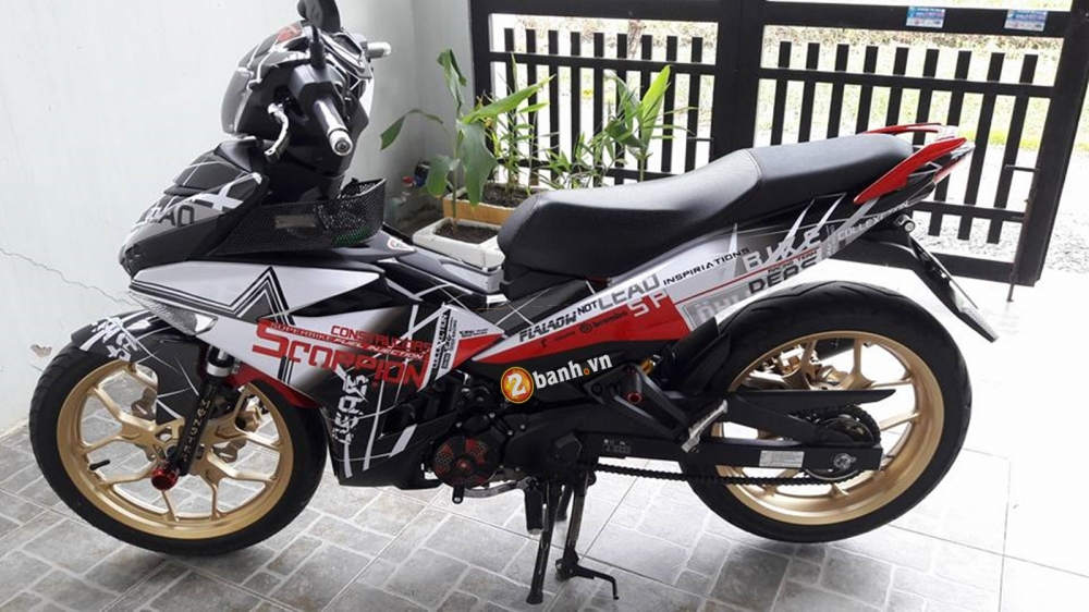 Exciter 150 do phong cach cung Bo Cap - 4