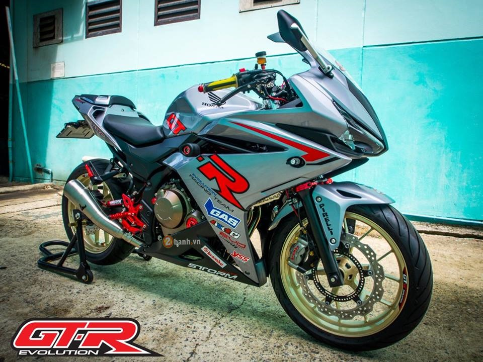 Honda CBR500R trong ban do GTR Racing Team day chat choi - 7
