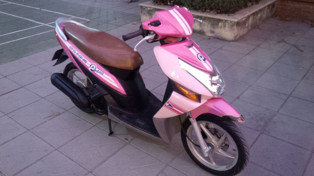Honda Click Play mau Hong bien so dep 29Y716162 - 5