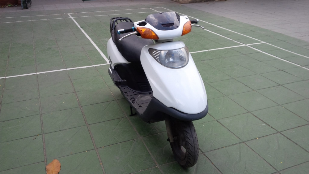 Honda SPACY Viet Nam mau trang may em ben it hao xang - 4