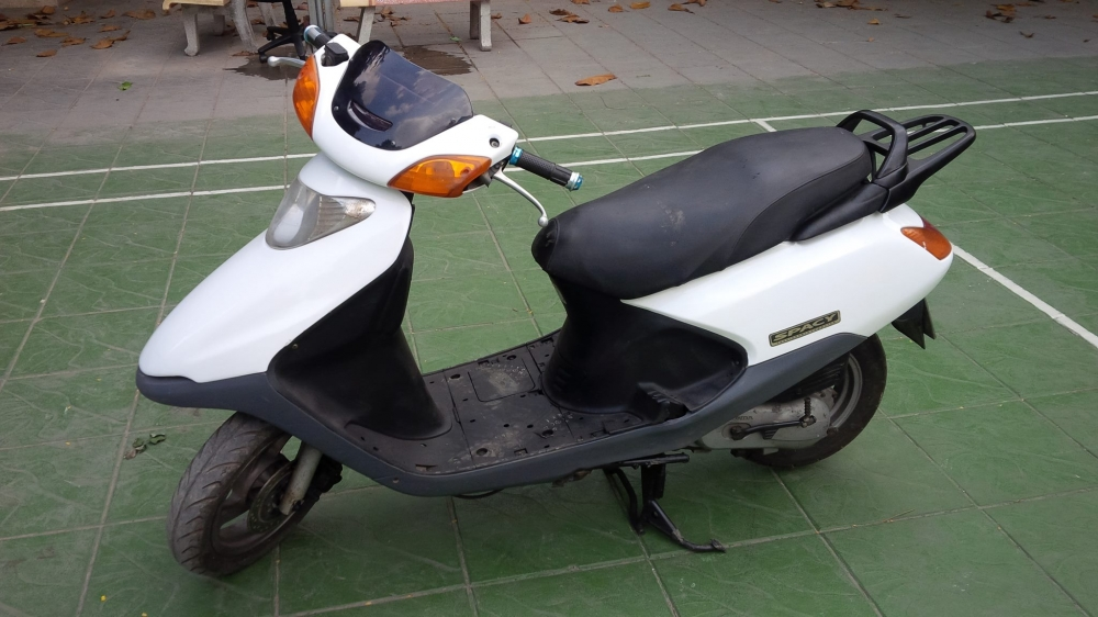 Honda SPACY Viet Nam mau trang may em ben it hao xang - 6