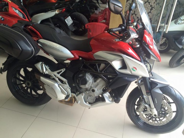 MotorKen can ban 2 e stradale 800cc xe thung chua no may chua do xang - 2
